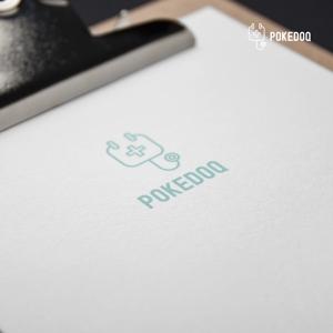 doremidesignさんの健康管理アプリ「POKEDOQ」のロゴへの提案