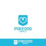 vz-tさんの健康管理アプリ「POKEDOQ」のロゴへの提案