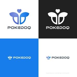 themisablyさんの健康管理アプリ「POKEDOQ」のロゴへの提案