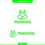 queuecatさんの健康管理アプリ「POKEDOQ」のロゴへの提案