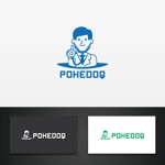 karinworksさんの健康管理アプリ「POKEDOQ」のロゴへの提案