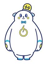 hachaco17さんの「しろくま」と「電気」を組み合わせたキャラクターのデザインへの提案