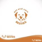 oo_designさんのペットオーラルケア「 BESTIES」のロゴへの提案