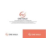 hope2017さんのニッチな供養業界専門のコンサルティング・広告代理店「ONE WALK」のロゴへの提案