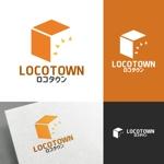 venusableさんの不動産売買の新会社「有限会社ロコタウン」のロゴ、アイコン制作への提案