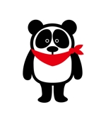 claphandsさんの20代~30代の女性に受け入れられるパンダのキャラクターのイラストへの提案