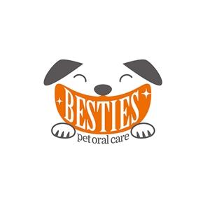 takepeco_66さんのペットオーラルケア「 BESTIES」のロゴへの提案