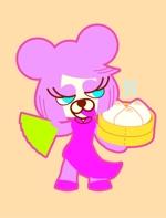 Andoさんの20代~30代の女性に受け入れられるパンダのキャラクターのイラストへの提案