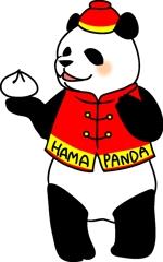 hamumuさんの20代~30代の女性に受け入れられるパンダのキャラクターのイラストへの提案