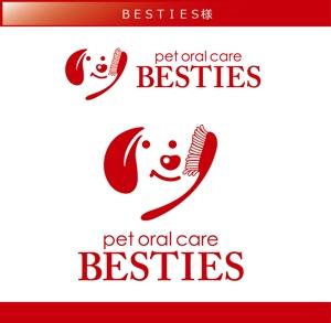 FISHERMANさんのペットオーラルケア「 BESTIES」のロゴへの提案
