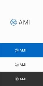 designdesignさんのポイントサイト『AMI』(あみー と読む)のロゴデザインへの提案
