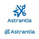 tsujimoさんの新規 美容室 「Astrantia」 のロゴ への提案