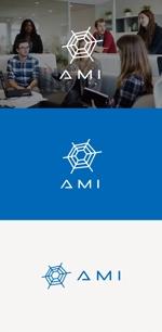 tanaka10さんのポイントサイト『AMI』(あみー と読む)のロゴデザインへの提案