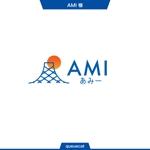 queuecatさんのポイントサイト『AMI』(あみー と読む)のロゴデザインへの提案
