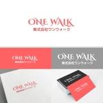 minervaabbeさんのニッチな供養業界専門のコンサルティング・広告代理店「ONE WALK」のロゴへの提案