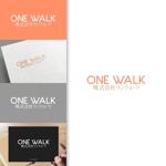 charisabseさんのニッチな供養業界専門のコンサルティング・広告代理店「ONE WALK」のロゴへの提案