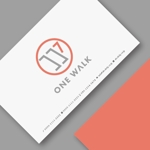 headdip7さんのニッチな供養業界専門のコンサルティング・広告代理店「ONE WALK」のロゴへの提案