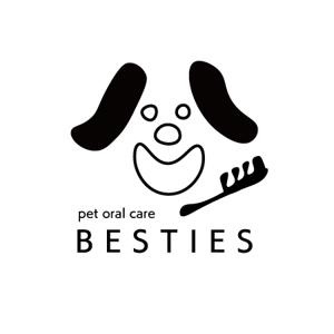 5c3ef104a2697さんのペットオーラルケア「 BESTIES」のロゴへの提案
