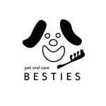 ペットオーラルケア「 BESTIES」のロゴへの提案