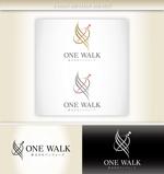 junya_iさんのニッチな供養業界専門のコンサルティング・広告代理店「ONE WALK」のロゴへの提案