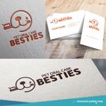 nekosuさんのペットオーラルケア「 BESTIES」のロゴへの提案