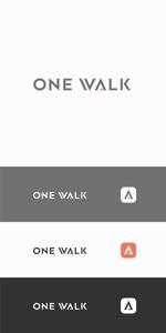 designdesignさんのニッチな供養業界専門のコンサルティング・広告代理店「ONE WALK」のロゴへの提案