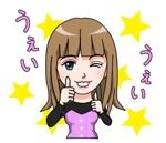 suzumarushoutenさんの女性 VTuber をイラスト化したLINEスタンプ制作への提案