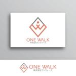White-designさんのニッチな供養業界専門のコンサルティング・広告代理店「ONE WALK」のロゴへの提案