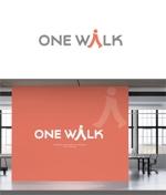 Doing1248さんのニッチな供養業界専門のコンサルティング・広告代理店「ONE WALK」のロゴへの提案