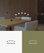 baku_modokiさんの新規 美容室 「Astrantia」 のロゴ への提案