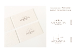 azumi_0208さんの新規 美容室 「Astrantia」 のロゴ への提案