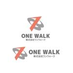 saki8さんのニッチな供養業界専門のコンサルティング・広告代理店「ONE WALK」のロゴへの提案