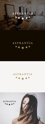 tanaka10さんの新規 美容室 「Astrantia」 のロゴ への提案