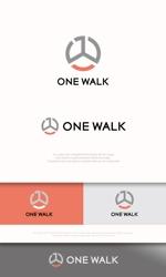 mahou-photさんのニッチな供養業界専門のコンサルティング・広告代理店「ONE WALK」のロゴへの提案