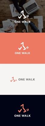 tanaka10さんのニッチな供養業界専門のコンサルティング・広告代理店「ONE WALK」のロゴへの提案