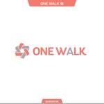 queuecatさんのニッチな供養業界専門のコンサルティング・広告代理店「ONE WALK」のロゴへの提案
