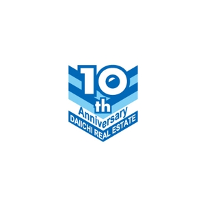 ninaiyaさんの【10周年 ロゴ制作】北九州、東京23区を拠点とするベンチャータイプの不動産会社です。への提案