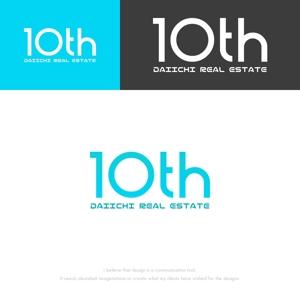 musaabezさんの【10周年 ロゴ制作】北九州、東京23区を拠点とするベンチャータイプの不動産会社です。への提案