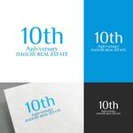 venusableさんの【10周年 ロゴ制作】北九州、東京23区を拠点とするベンチャータイプの不動産会社です。への提案