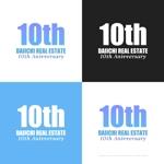 themisablyさんの【10周年 ロゴ制作】北九州、東京23区を拠点とするベンチャータイプの不動産会社です。への提案