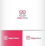 建築会社の社名ロゴへの提案
