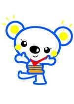 miiaさんの「しろくま」と「電気」を組み合わせたキャラクターのデザインへの提案