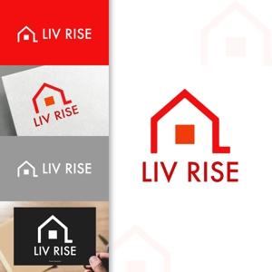 charisabseさんの売買専門の不動産会社「株式会社 LIV RISE(リブライズ)」のロゴへの提案