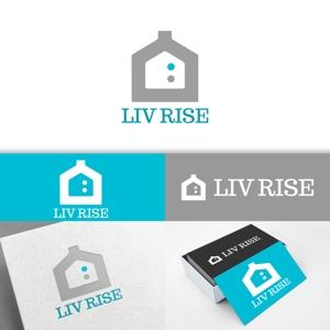 minervaabbeさんの売買専門の不動産会社「株式会社 LIV RISE(リブライズ)」のロゴへの提案