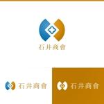 athenaabyzさんの会社ロゴ「石井商會」のロゴへの提案