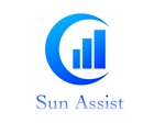myasuda2019さんの建設業・不動産仲介業務 「サン・アシスト」のロゴ サン:太陽・アシストへの提案