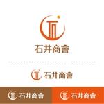 t-youhaさんの会社ロゴ「石井商會」のロゴへの提案