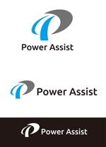dd51さんの運転手付きトラックレンタル「パワーアシスト」のロゴへの提案