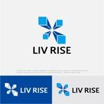 drkigawaさんの売買専門の不動産会社「株式会社 LIV RISE(リブライズ)」のロゴへの提案