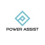 calimboさんの運転手付きトラックレンタル「パワーアシスト」のロゴへの提案